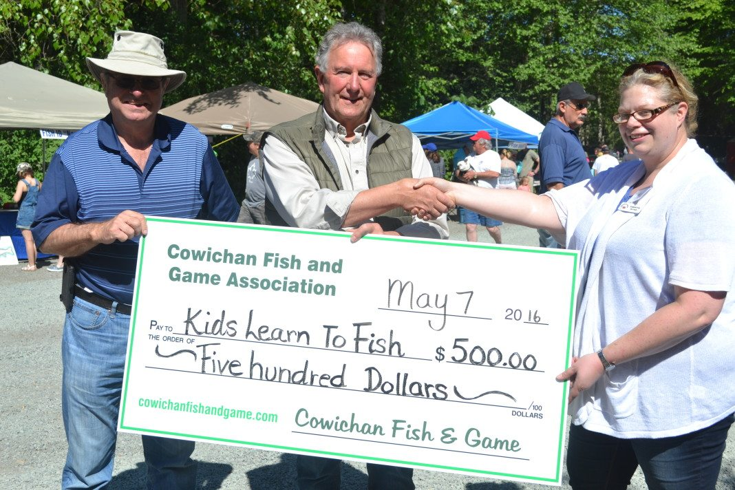 kids learn to fish donation